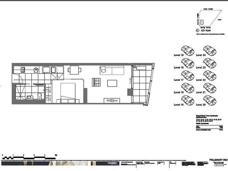 1801/35 Malcolm Street, South Yarra 3141, VIC Apartment Photo