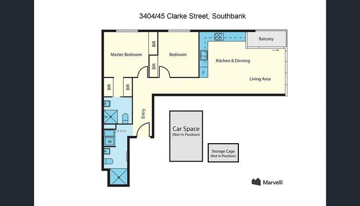 3404/45 Clarke Street, Southbank 3006, VIC Apartment Photo