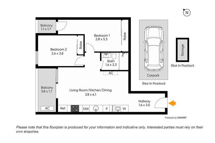 101/243-247 Queens Parade, Fitzroy North 3068, VIC Apartment Photo