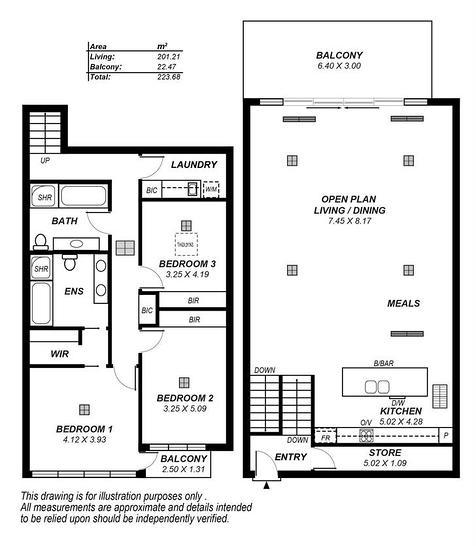 63/223 North Terrace, Adelaide 5000, SA Apartment Photo