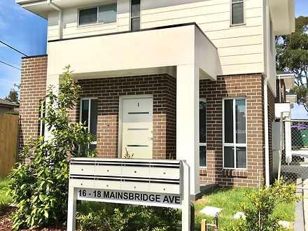 1/16-18 Mainsbridge Avenue, Liverpool 2170, NSW Townhouse Photo