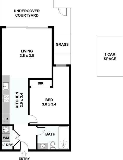 G14/96 Albert Street, Brunswick East 3057, VIC Apartment Photo