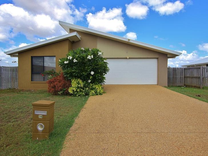 38 Justin Street, Gracemere 4702, QLD House Photo