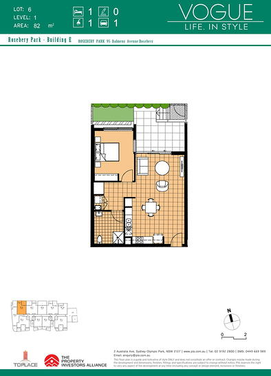 106/4 Banilung Street, Rosebery 2018, NSW Apartment Photo
