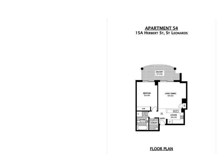 54/15A Herbert Street, St Leonards 2065, NSW Apartment Photo