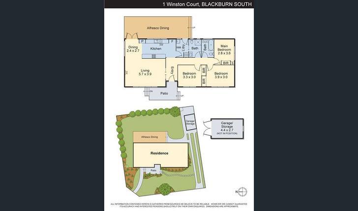 1 Winston Court, Blackburn South 3130, VIC House Photo