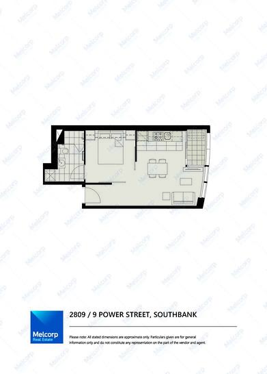 2809/9 Power Street, Southbank 3006, VIC Apartment Photo