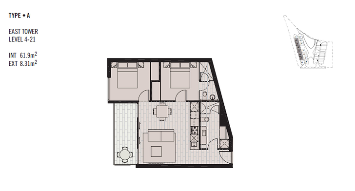 FLOOR7/673 La Trobe Street, Docklands 3008, VIC Apartment Photo