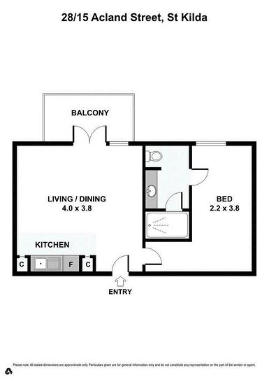 28/15 Acland Street, St Kilda 3182, VIC Apartment Photo