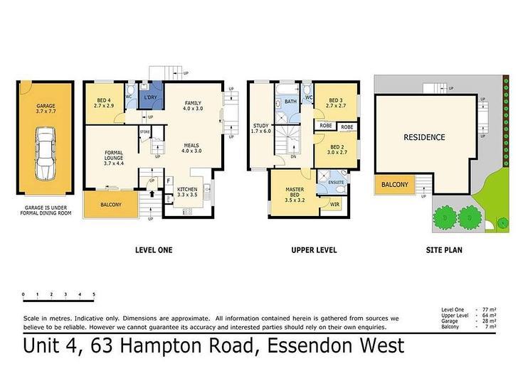 4/63 Hampton Road, Essendon West 3040, VIC Townhouse Photo