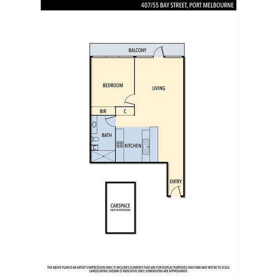 407/55 Bay Street, Port Melbourne 3207, VIC Apartment Photo