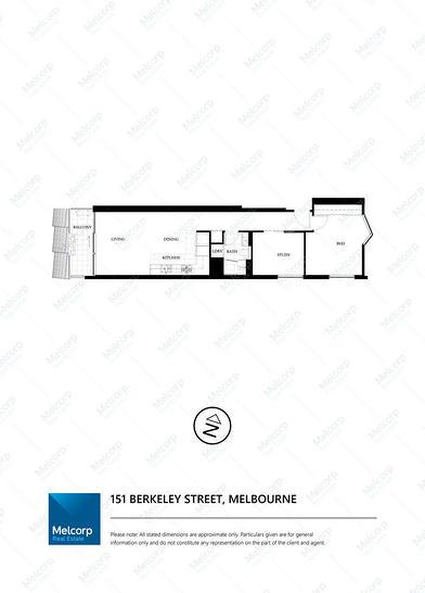 1001/151 Berkeley Street, Melbourne 3000, VIC Apartment Photo