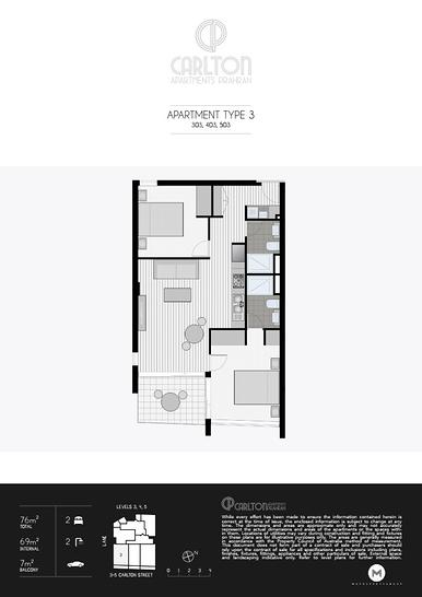 303/7 Carlton Street, Prahran 3181, VIC Apartment Photo