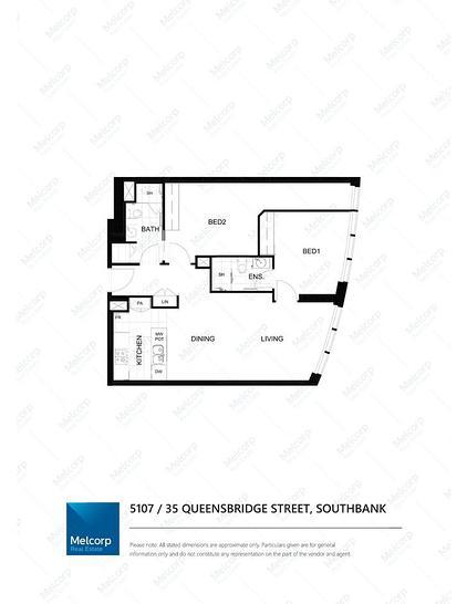 5107/35 Queensbridge Street, Southbank 3006, VIC Apartment Photo