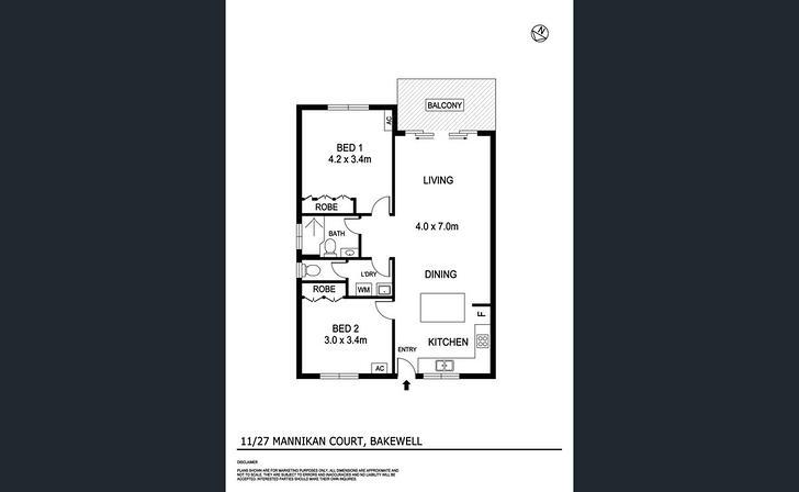11/27 Mannikan Court, Bakewell 0832, NT Unit Photo