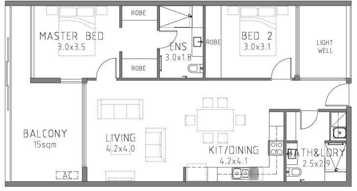 49/35 Hastings Street, Scarborough 6019, WA Apartment Photo