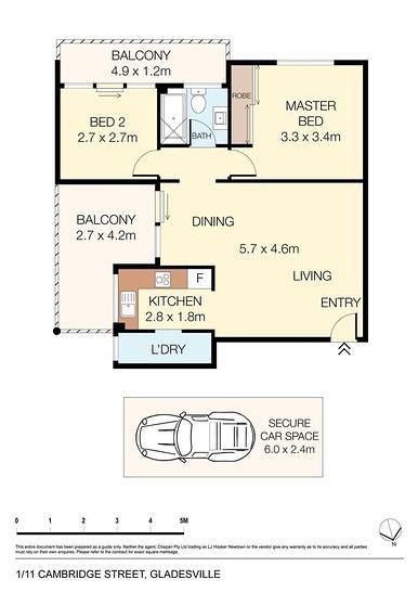 1/11-13 Cambridge Street, Gladesville 2111, NSW Apartment Photo