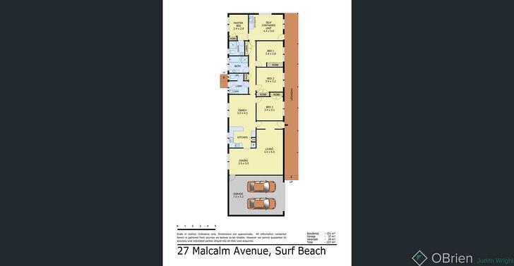 27 Malcalm Avenue, Surf Beach 3922, VIC House Photo