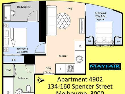 4902/134-150 Spencer Street, Melbourne 3004, VIC Apartment Photo