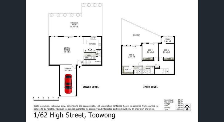 1/62 High Street, Toowong 4066, QLD Townhouse Photo
