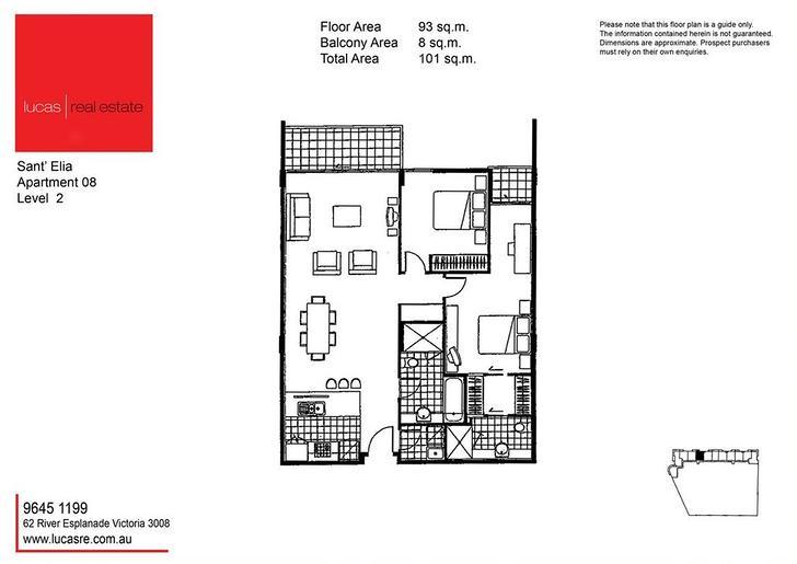 208/30 Newquay Promenade, Docklands 3008, VIC Apartment Photo