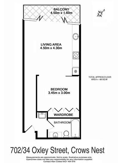 702 / 34 Oxley Street, Crows Nest 2065, NSW Apartment Photo
