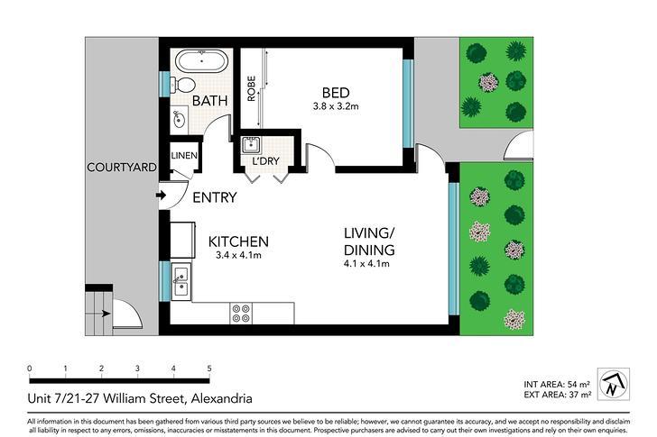 7/21-27 William Street, Alexandria 2015, NSW Apartment Photo