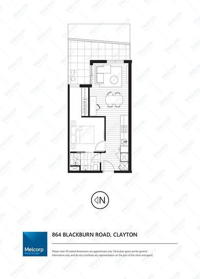 2222/864 Blackburn Road, Clayton 3168, VIC Apartment Photo
