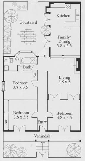 Lygon Street, Carlton 3053, VIC House Photo