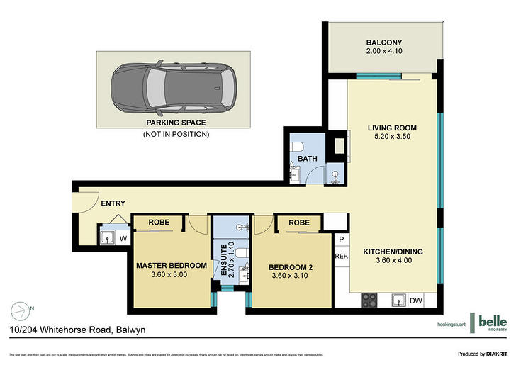 10/204 Whitehorse Road, Balwyn 3103, VIC Apartment Photo
