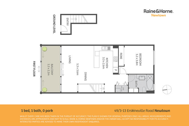49/3-13 Erskineville Road, Newtown 2042, NSW Apartment Photo