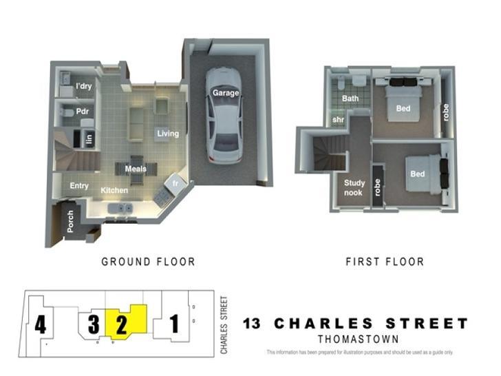 2/13 Charles Street, Thomastown 3074, VIC Townhouse Photo