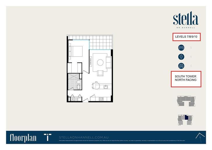 1BR @ STELLA 38 Hannell Street, Wickham 2293, NSW Apartment Photo
