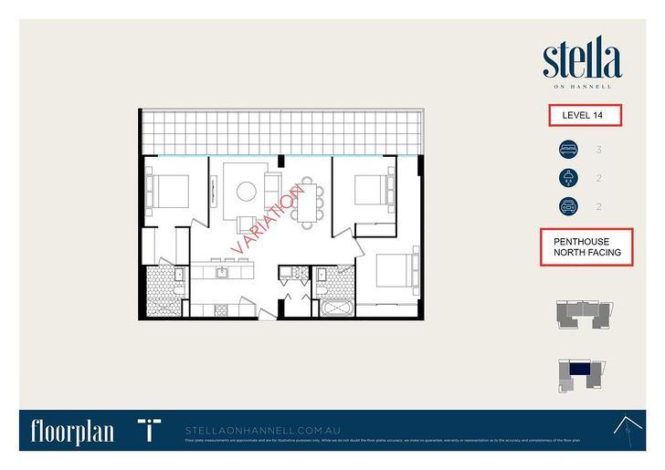 3BR @ STELLA 38 Hannell Street, Wickham 2293, NSW Apartment Photo