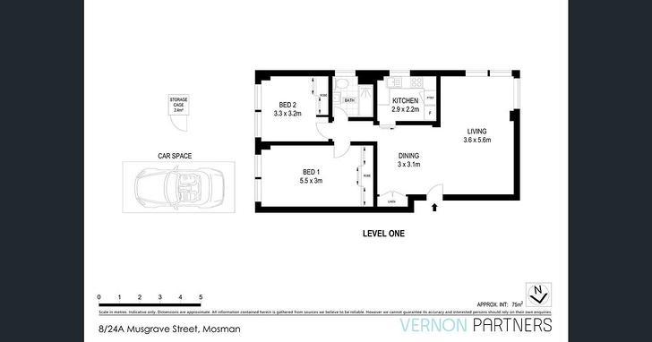 8/24A Musgrave Street, Mosman 2088, NSW Apartment Photo