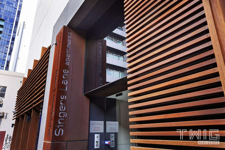 FURNISHED 1 BEDROOM/17 Singers Lane, Melbourne 3000, VIC Apartment Photo