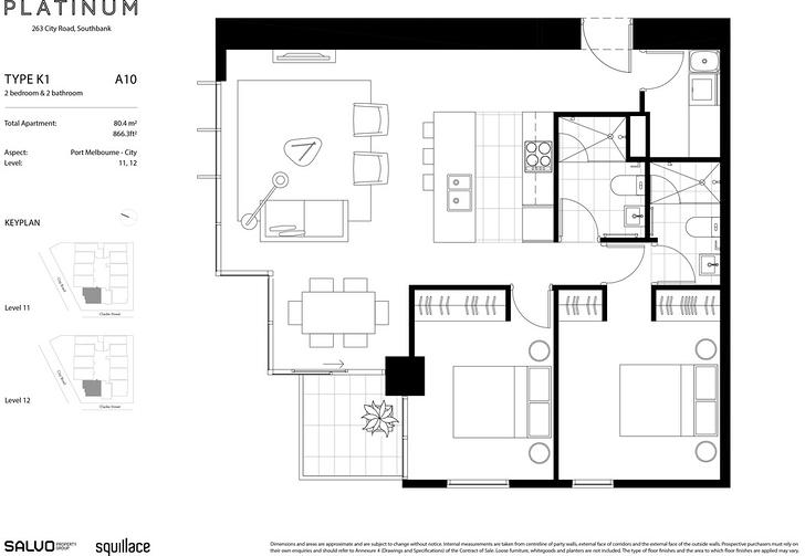 1110/45 Clarke Street, Southbank 3006, VIC Apartment Photo