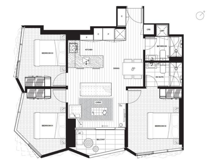 5207/442 Elizabeth Street, Melbourne 3000, VIC Apartment Photo