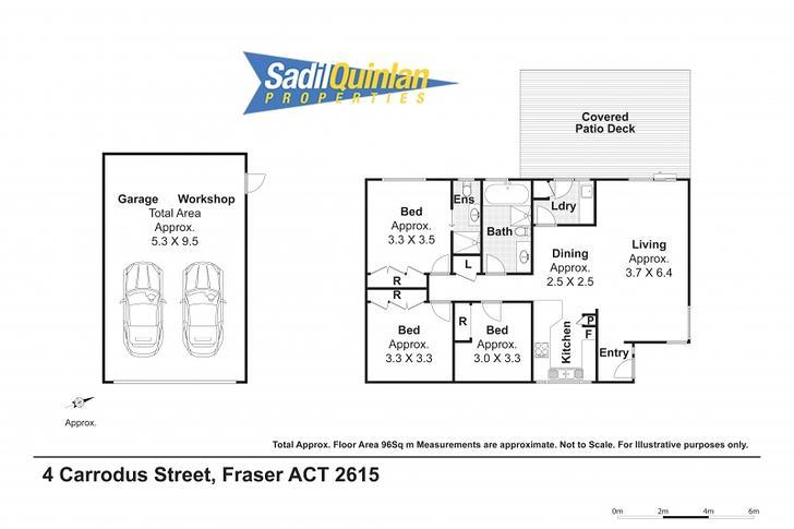 4 Carrodus Street, Fraser 2615, ACT House Photo