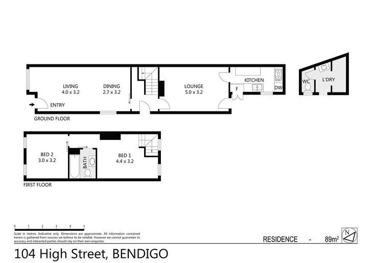 104 High Street, Bendigo 3550, VIC House Photo