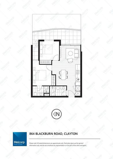 2415/864 Blackburn Road, Clayton 3168, VIC Apartment Photo