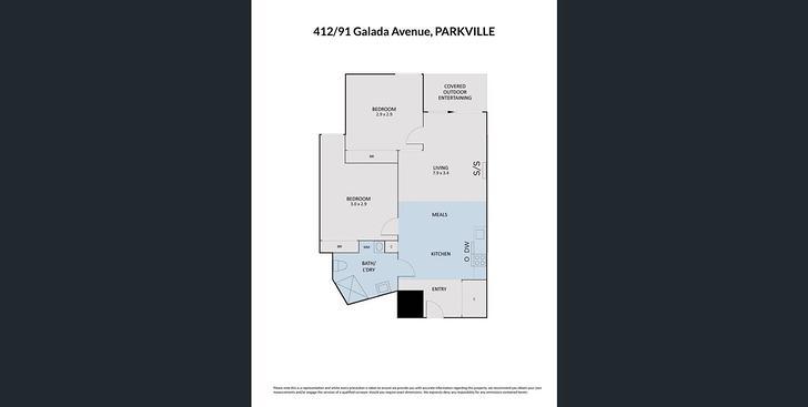 412/91 Galada Avenue, Parkville 3052, VIC Apartment Photo