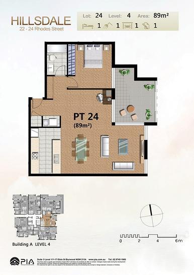 404/22-24 Rhodes Street, Hillsdale 2036, NSW Apartment Photo