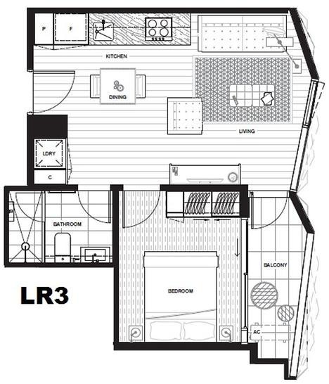 1803/442 Elizabeth Street, Melbourne 3000, VIC Apartment Photo