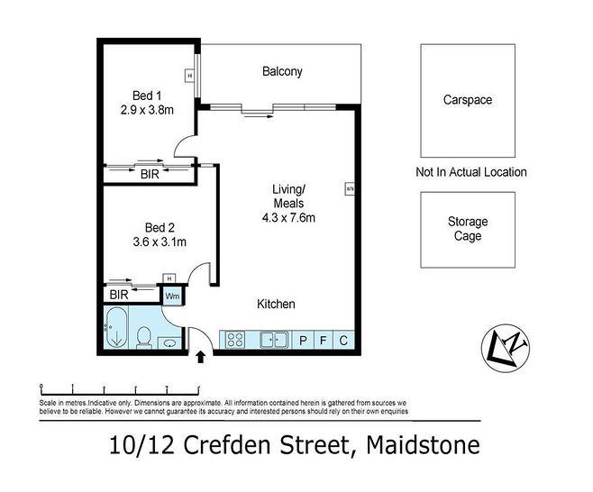 10/12 Crefden Street, Maidstone 3012, VIC Apartment Photo