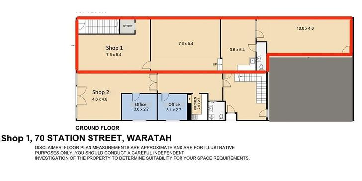 SHOP 1/70 Station Street, Waratah 2298, NSW Other Photo