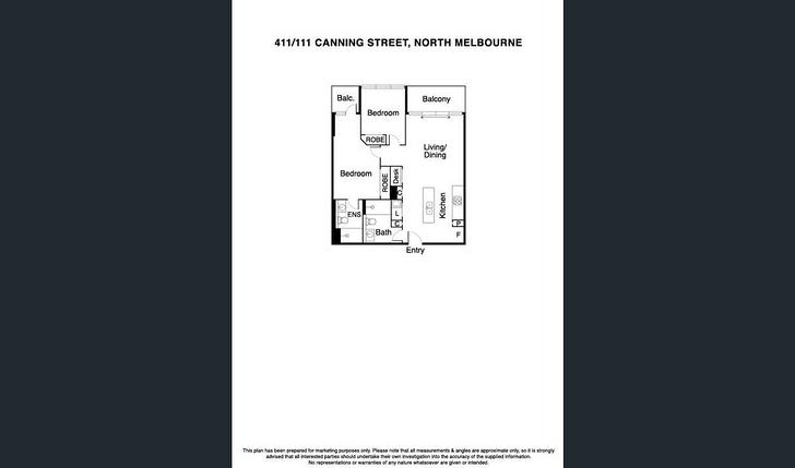 C411/111 Canning Street, North Melbourne 3051, VIC Apartment Photo