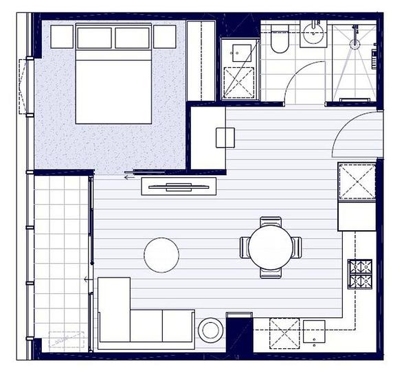 1405/105 Batman Street, West Melbourne 3003, VIC Apartment Photo