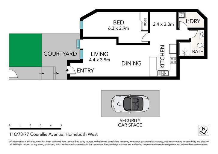110/73-77 Courallie Avenue, Homebush West 2140, NSW Apartment Photo