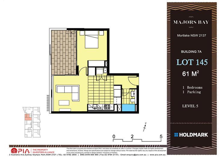 A7 502/3 Northcote Street, Mortlake 2137, NSW Apartment Photo